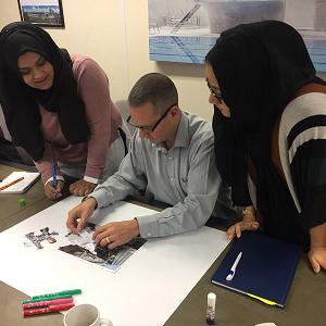 Silvertown SGN/Tarmac training 2 teachers 1 mentor