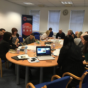 Mentors training in Scotland