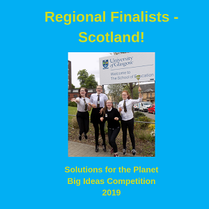 Announcing the Regional Finalists in Scotland!